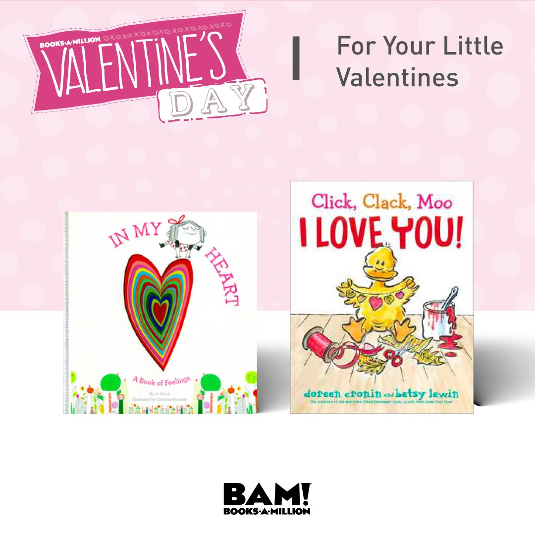 Little hearts love gifts too! Find the best basket stuffers at #BooksAMillion in-store now!