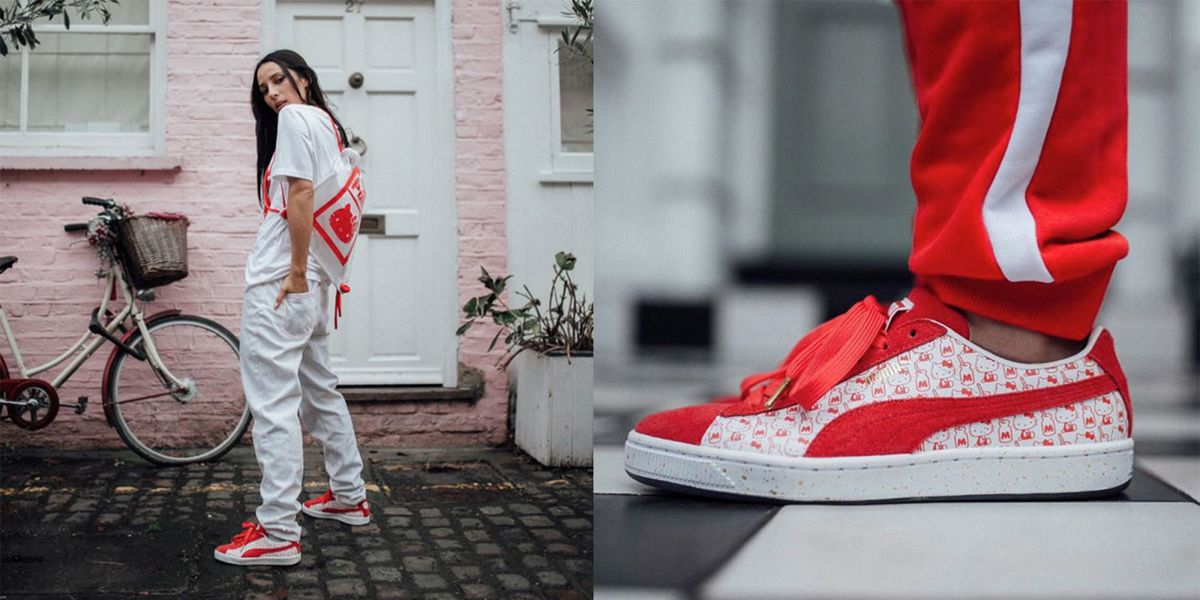 1bdab54ca5acdd hello kitty and puma just teamed up for a new collection and you need to see