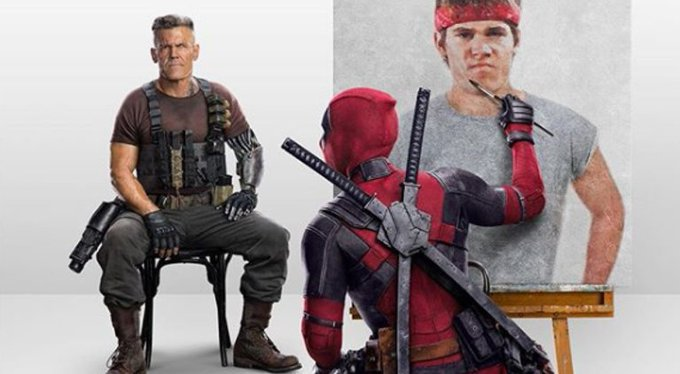 Happy birthday Josh Brolin AKA Cable AKA Thanos you\re a Badass