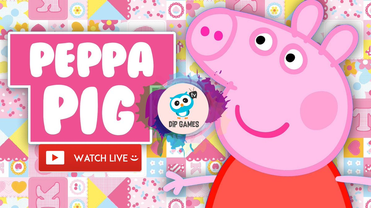Dip Games For Kids On Twitter Peppapig New Episodes Live Let S