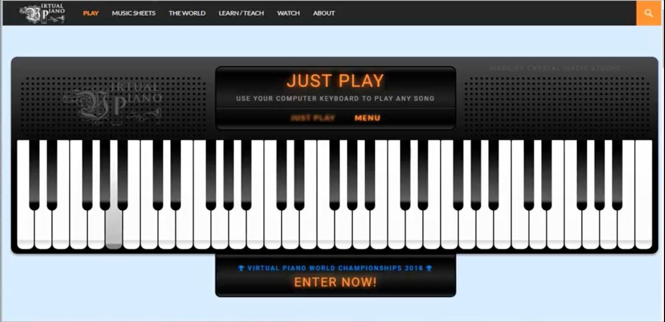 Virtual Piano Sheets Trello