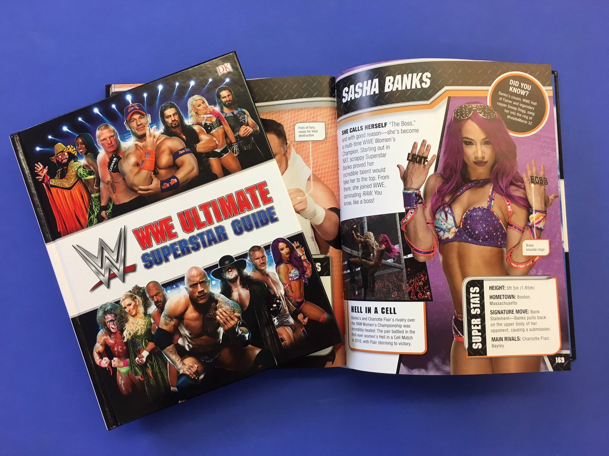 Be #TheBoss of your #WrestleMania party! Get the new @WWE Ultimate Superstar Guide from @dkpublishing, out March 5.  Pre-order NOW: wwe.me/EFQABq
