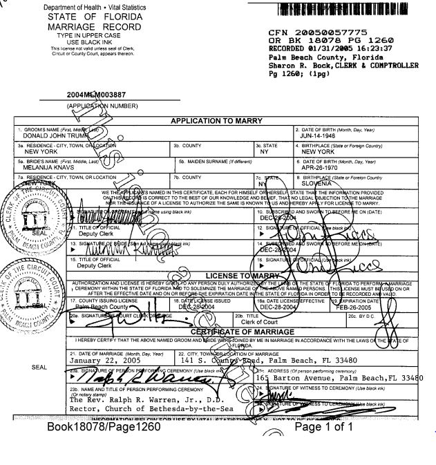 palm beach county marrige license records