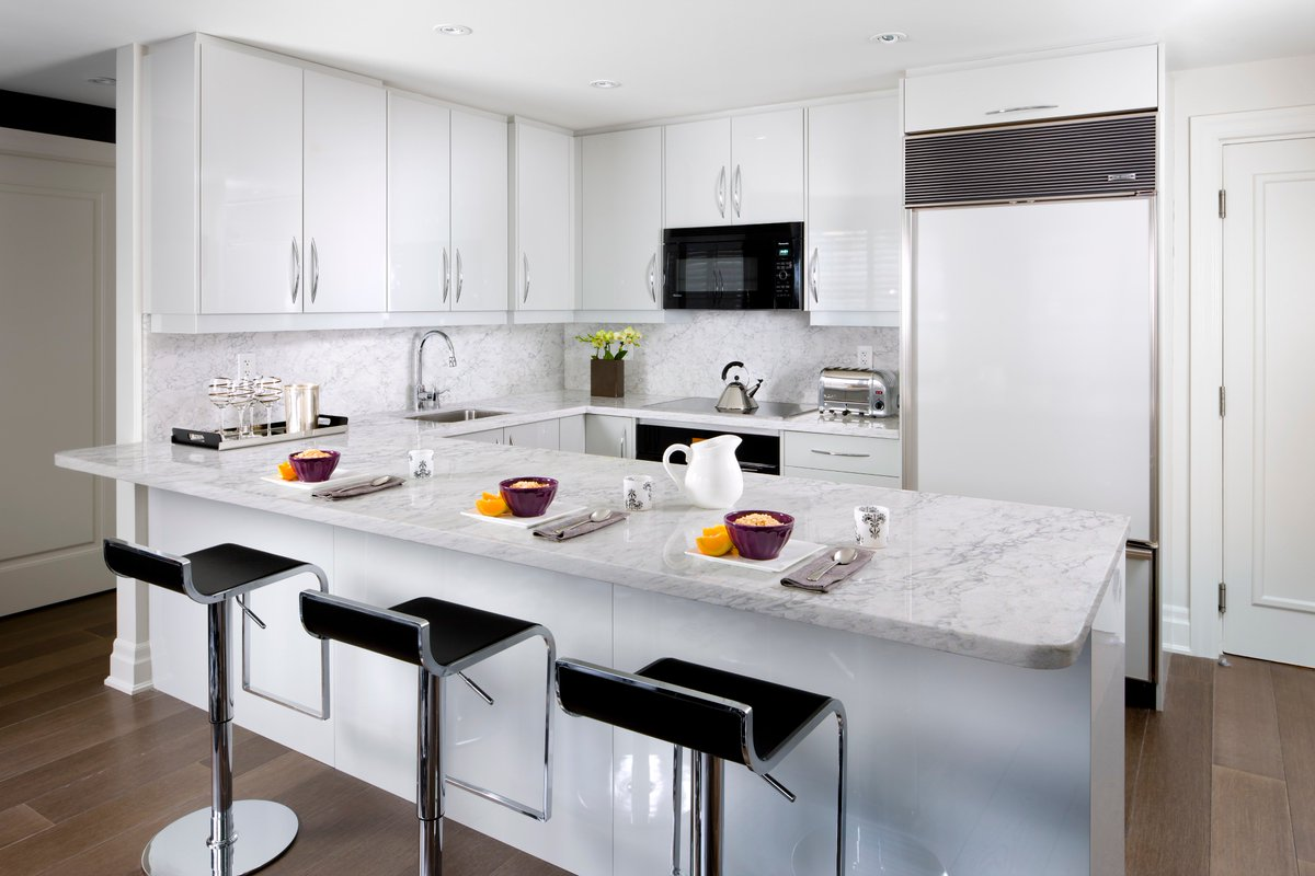 Silestone Marble Kitchen Design