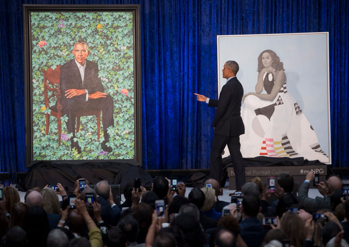 About that Michael Obama Painting... DV2OlzUWAAAQP5c