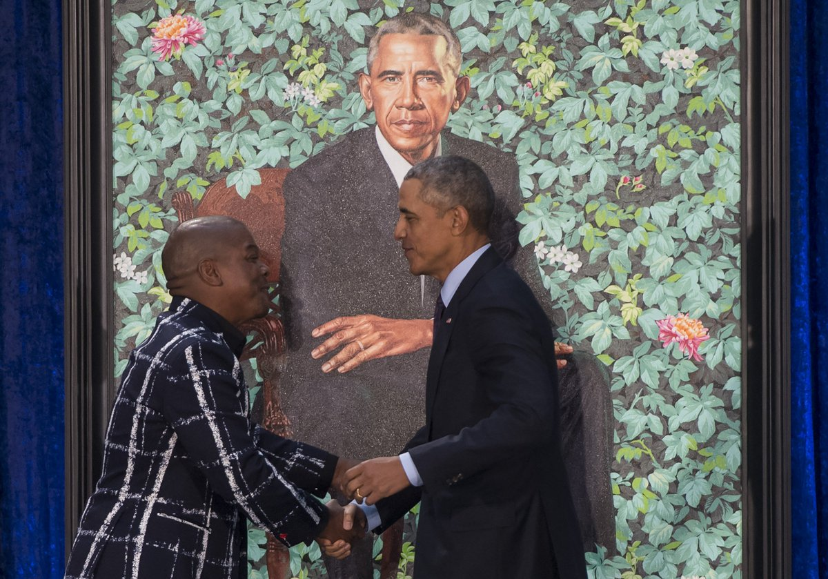 About that Michael Obama Painting... DV2OnPZW0AEEnRp