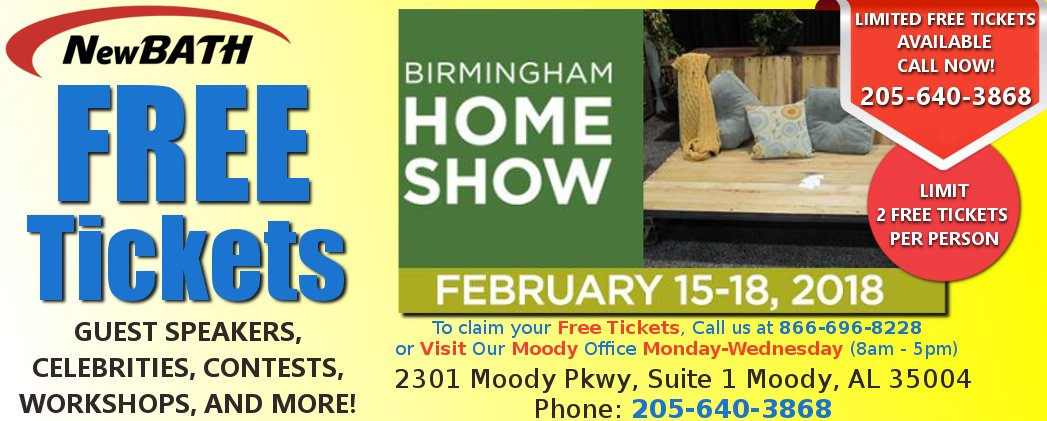... FOR THIS UPCOMING WEEKENDS HUGE #BIRMINGHAM HOME U0026 GARDEN SHOW!! CAN  ONLY PICK THEM UP FROM OUR MOODY, AL OFFICE TODAY/TOMORROW/AND WEDNESDAY!