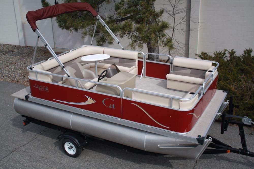 Boat Sales On Twitter Ebay New 16 Ft Pontoon Boat
