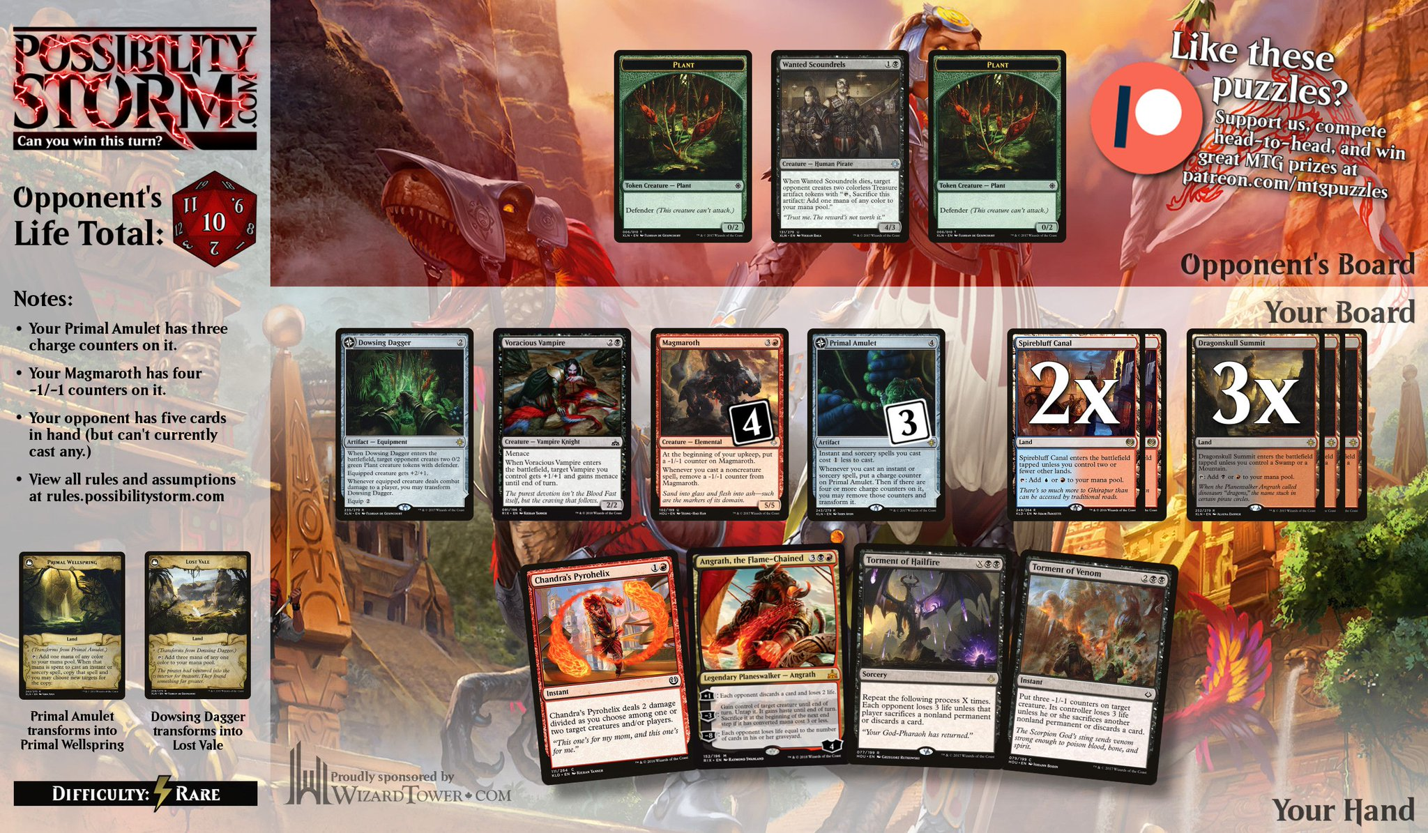 Possibility Storm - MTG Puzzles on Twitter: