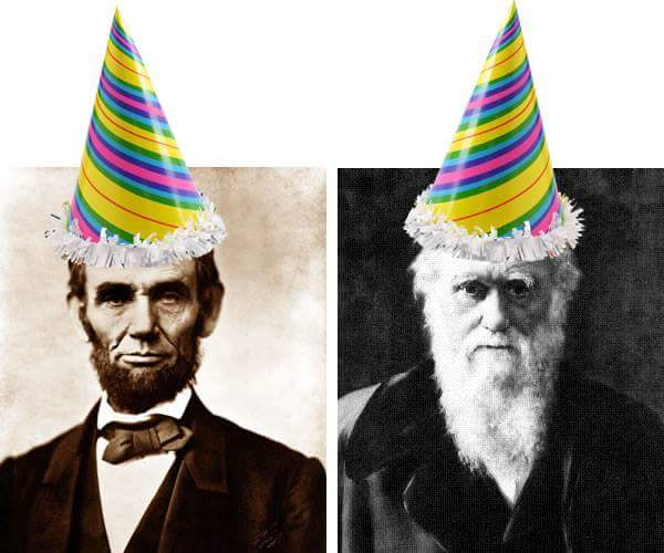 BORN ON THIS DAY: Abraham Lincoln and Charles Darwin - arguably two of the most important figures of the 19th Century. #Emancipation #Evolution<br>http://pic.twitter.com/vHPUoaGEx3