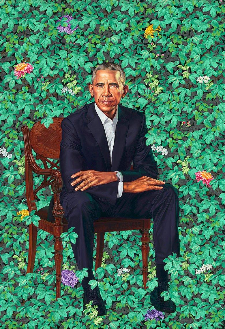 Jerry Saltz's photo on The Obamas