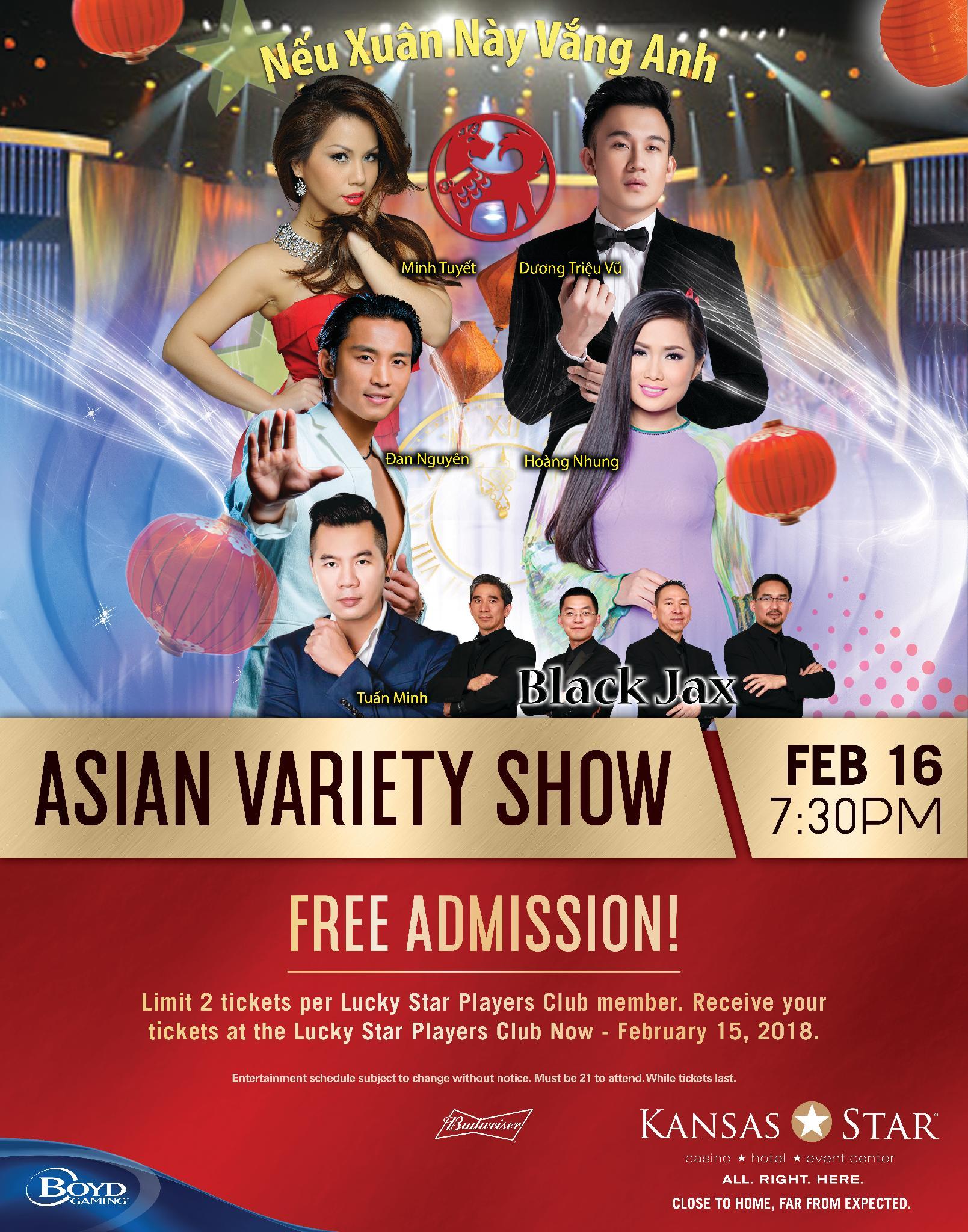 Asian varitey show