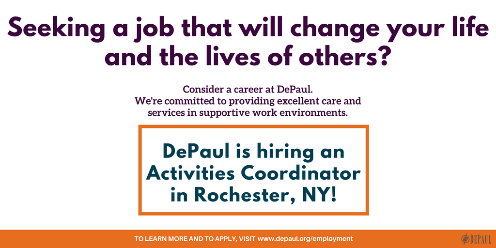 Depaul On Twitter Depaul Is Seeking Candidates For An Activities