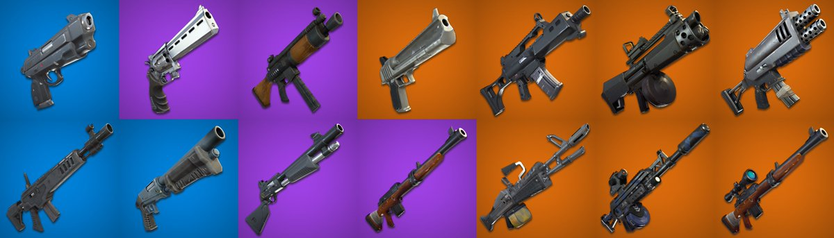 Fortnite News Fnbr News On Twitter Are There Any Pve Weapons You