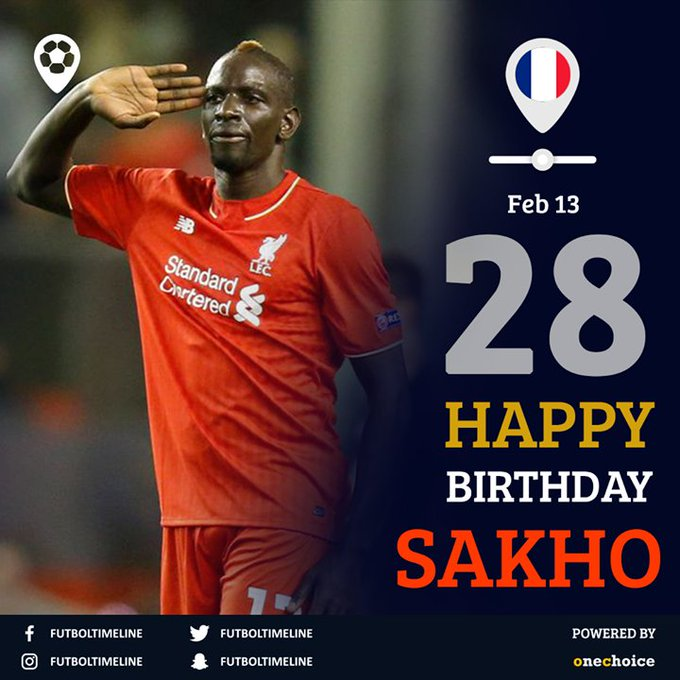 Happy Birthday Mamadou Sakho.