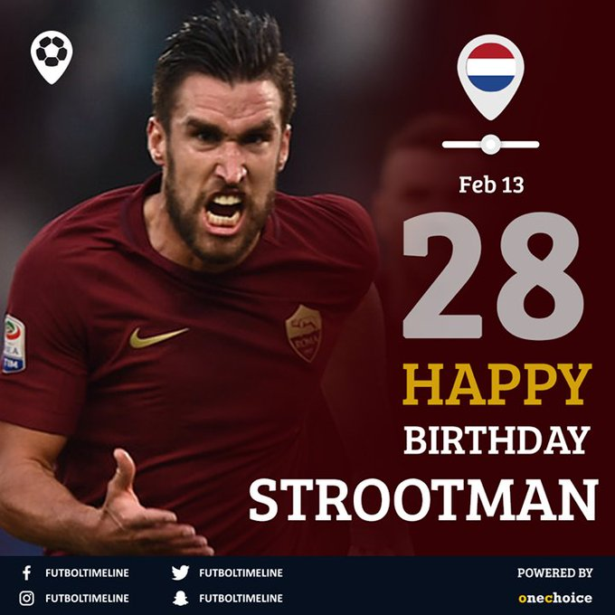Happy Birthday Kevin Strootman.