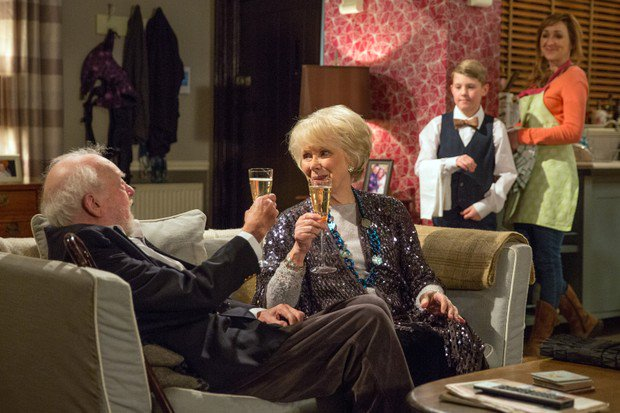 Don't miss the brilliant Wendy Craig's arrival to @emmerdale tonight at 7.00pm on @ITV #emmerdale