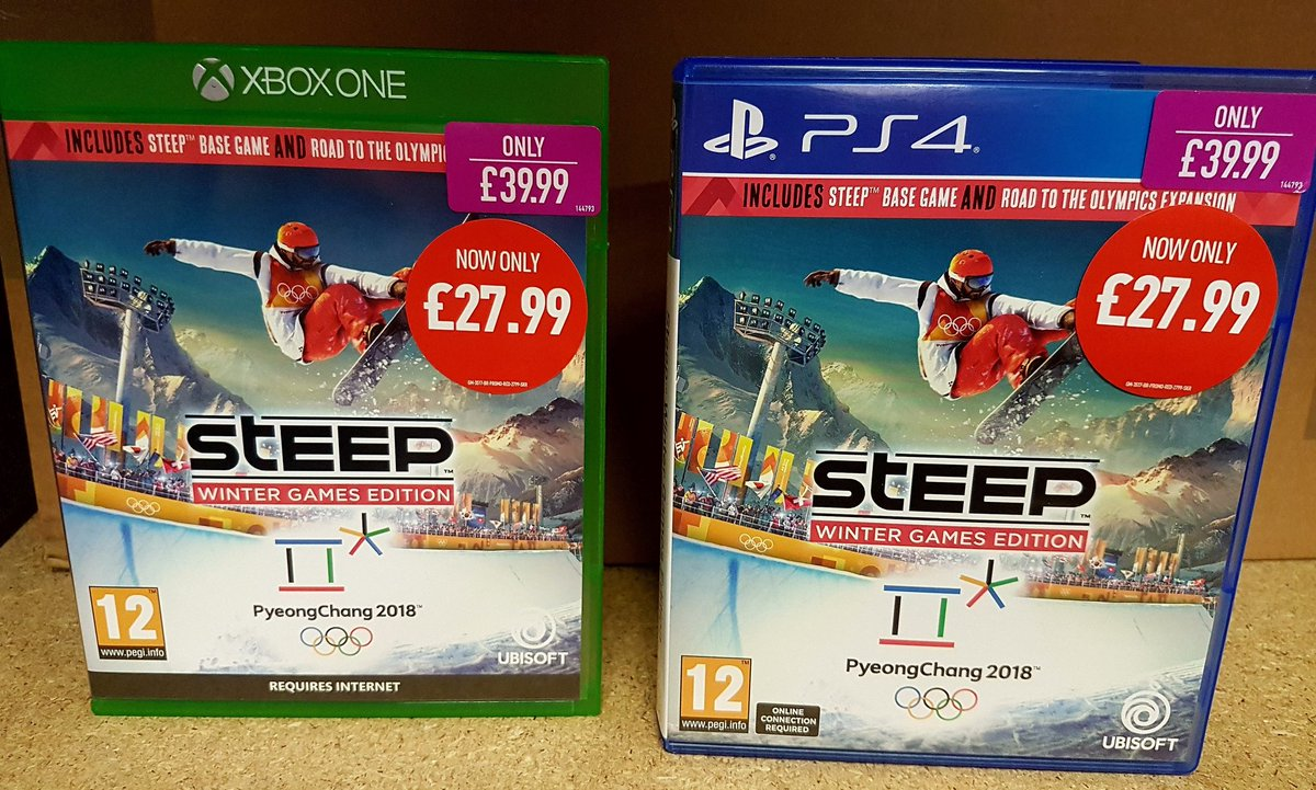 Tied to the screen watching the #WinterOlympics2018 .. Be part of the action in #SteepWinterGamesEdition .. Now only £27.99! #GAME https://t.co/BicOL06PIQ