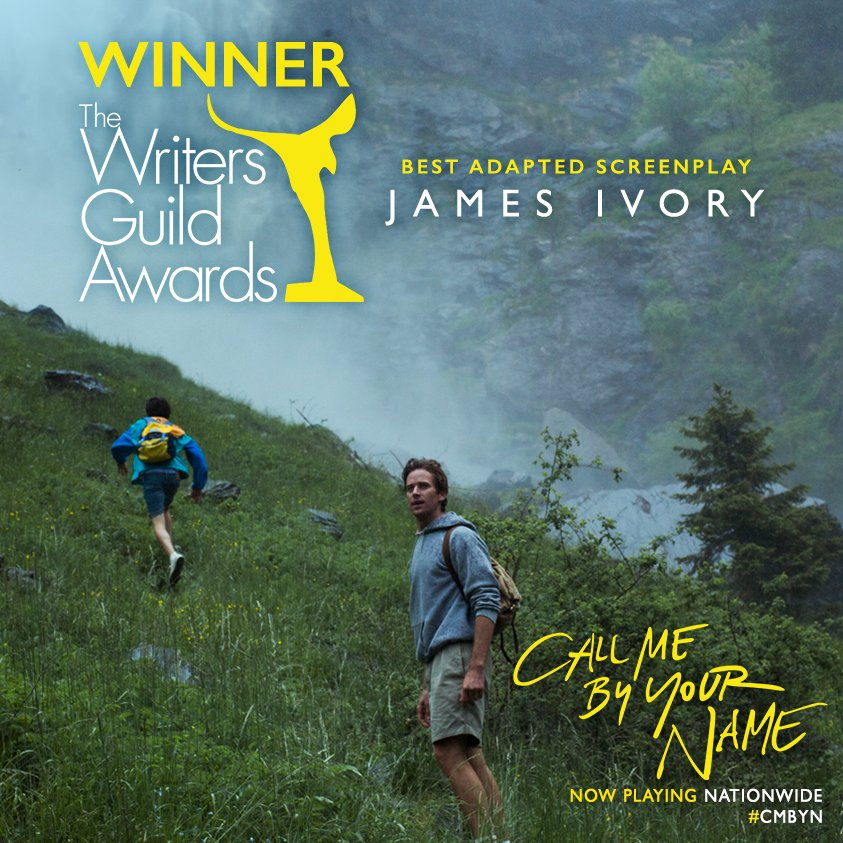 Call Me By Your Name's photo on Ivory