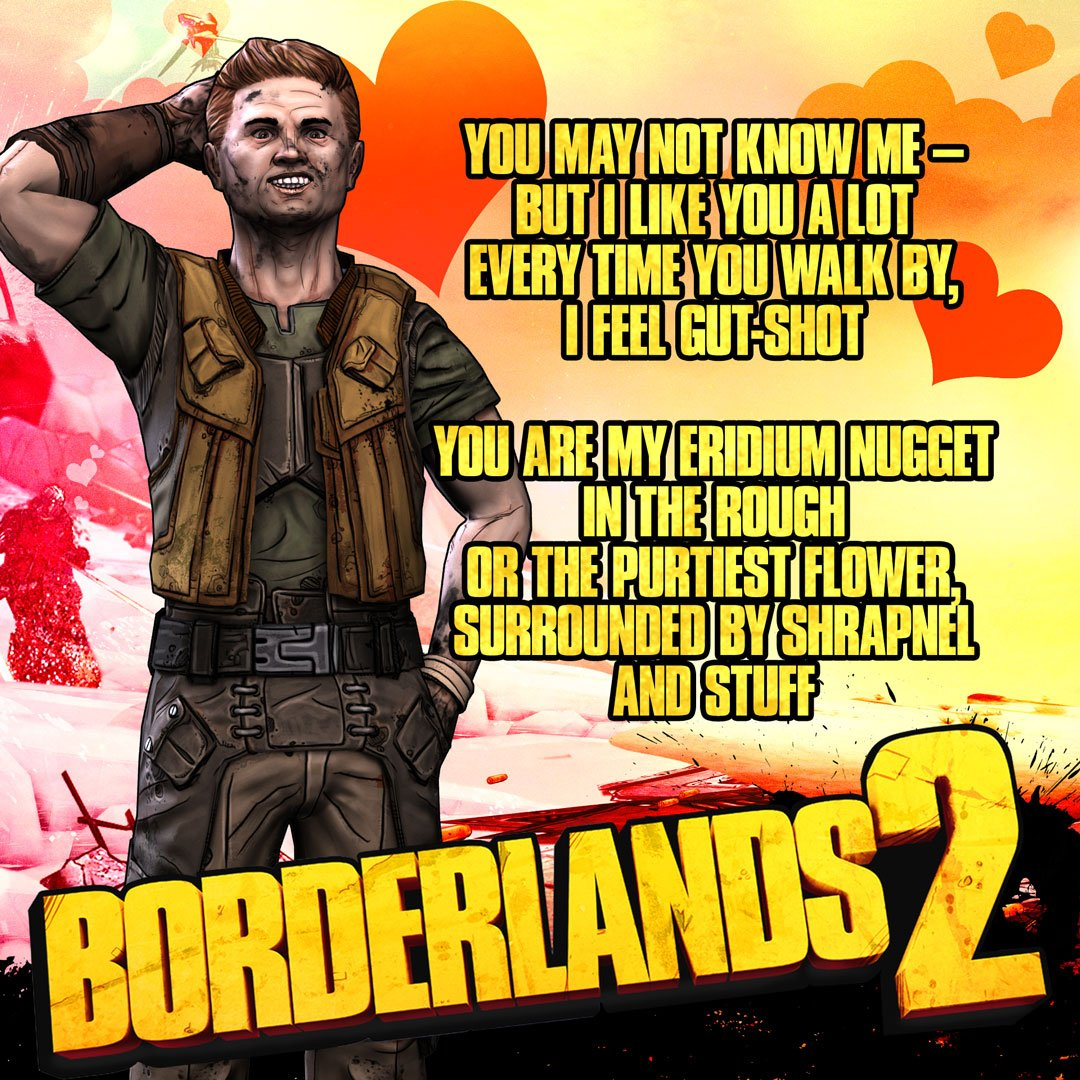 Borderlands On Twitter Don T Lose That Lovin Feeling This