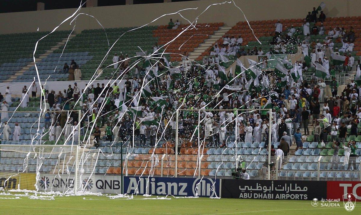 شكراً جماهير #الأهلي في عمان .. ماقصرتم...