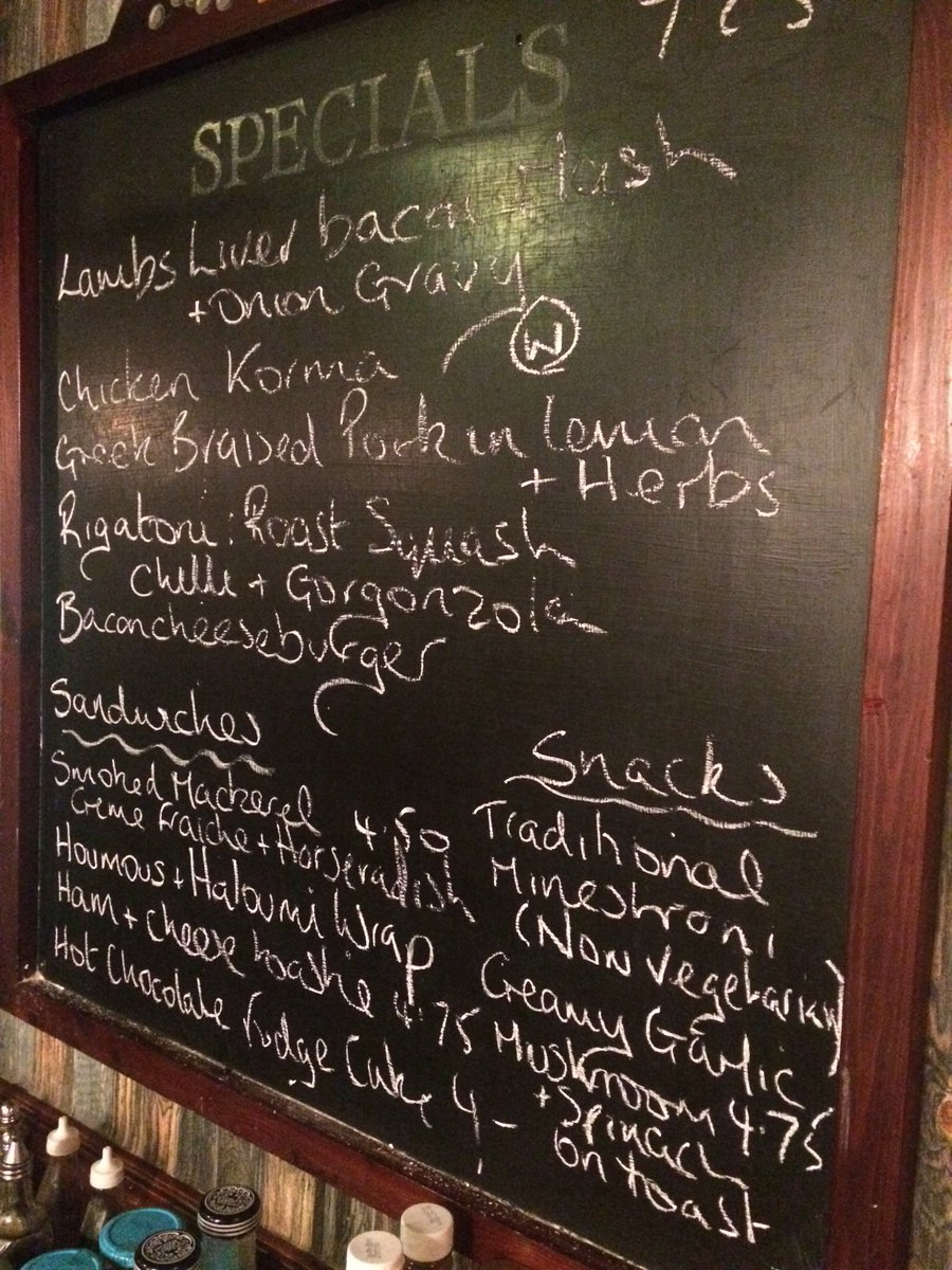 We have a lovely specials board this week. Come in see for yourself. https://t.co/3DooiSYy00