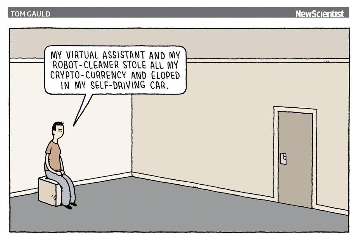 Left with virtually nothing 🖊 @tomgauld