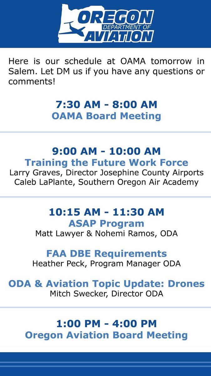 OR Dept Of Aviation ORAviation Twitter - Airports in oregon