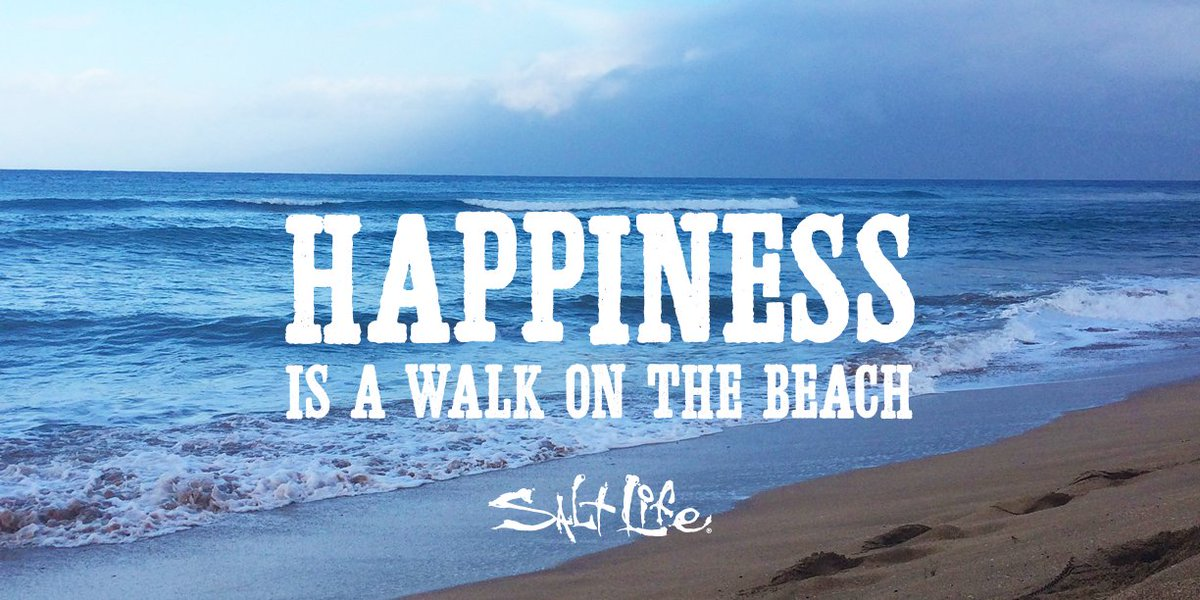 Salt Life On Twitter Hiness Is A Walk The Beach Livethesaltlife