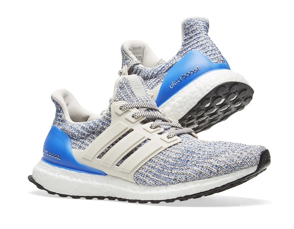 dec5d51bb08 Now available via End adidas Ultra Boost 4.0 Chalk Pearl     http   bit.ly 2CfDSJ9 pic.twitter.com WfVXyqxnKH