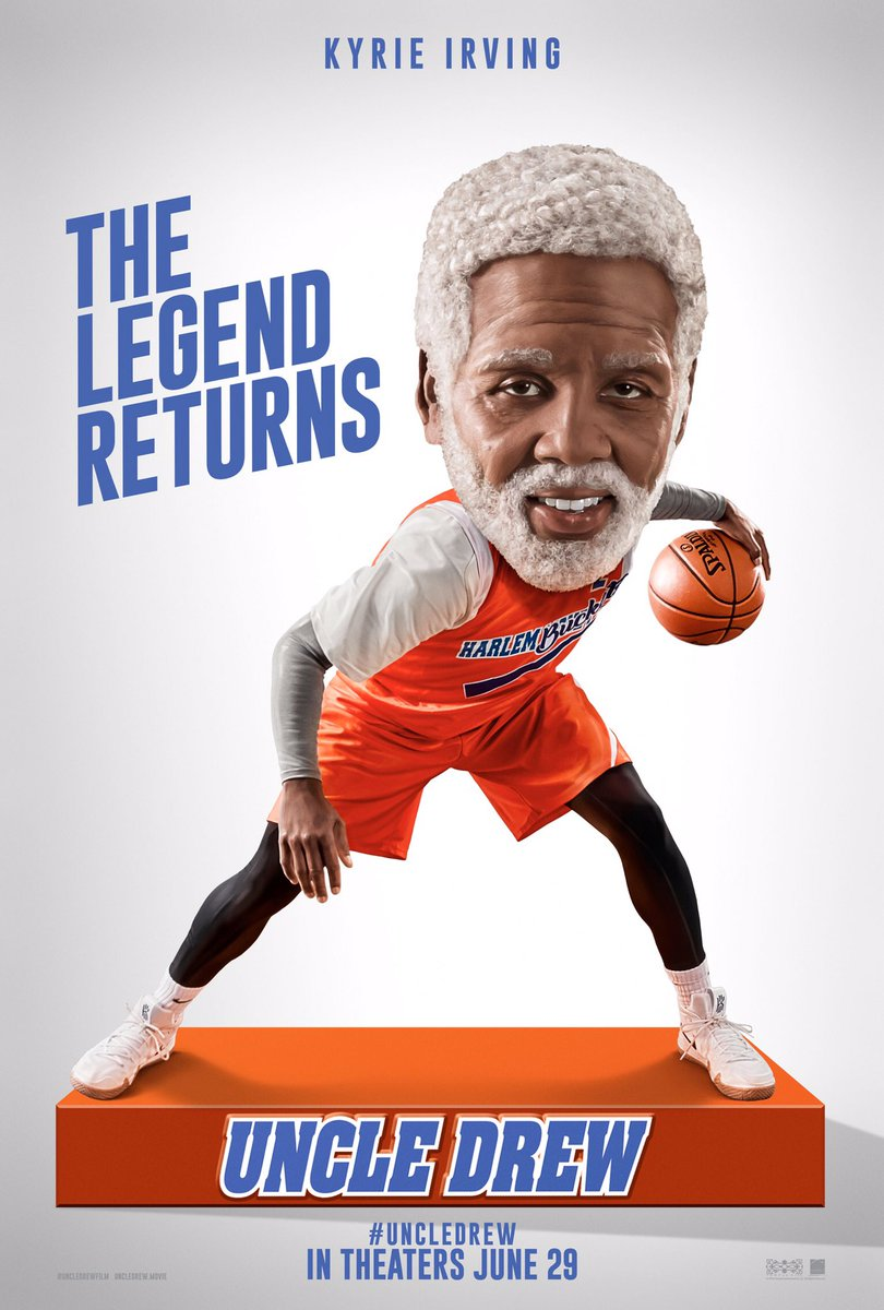 The Legend is ready to ball on the big screen. Get ready to watch #UncleDrew in theaters June 29! #JustDrewIt @UncleDrewFilm