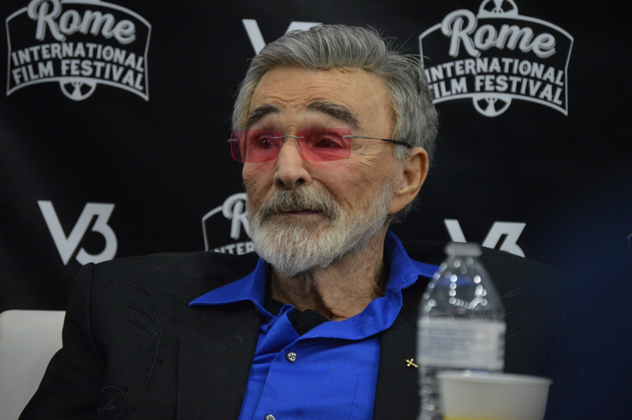 Happy Birthday to Burt Reynolds! We fondly remember his visit to Rome during the last year!