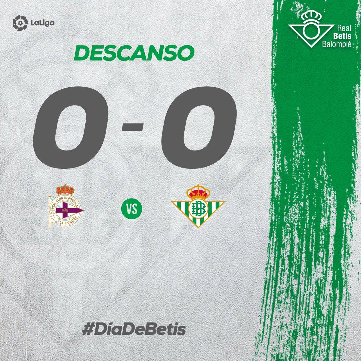 Deportivo La Coruna Vs Real Betis La Liga 2017 2018