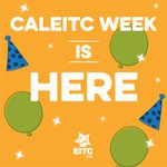 #CalEITCWeek is here! Follow @CalEITC4Me to learn more about their resources to get you your EITC cash back refund! https://t.co/uR8eURNFuf