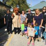 Image for the Tweet beginning: McGruff Monday!  Officer McGruff and #StPetePD