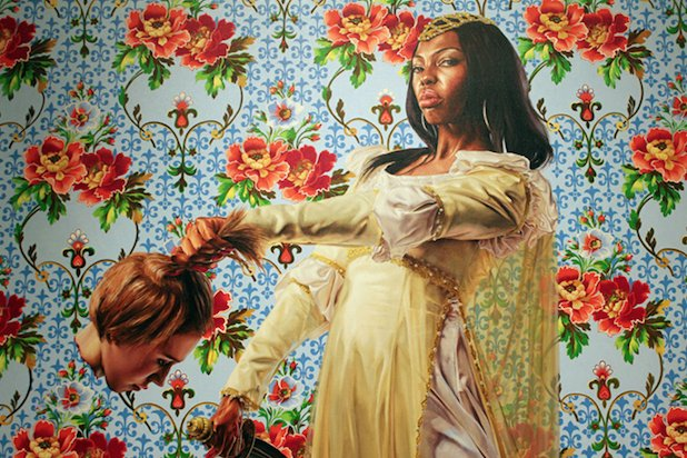 Obama Portrait Artist Kehinde Wiley's Once Painted Black Women Decapitating White Women https://t.co/qbeXz6MB7n