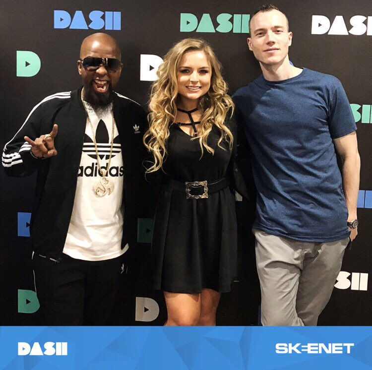 Tune into #SkeeNet today at 4 PM PST to catch @djskee interview @TechN9ne + @MackenzieNicole ���� https://t.co/zeNUuA71H0
