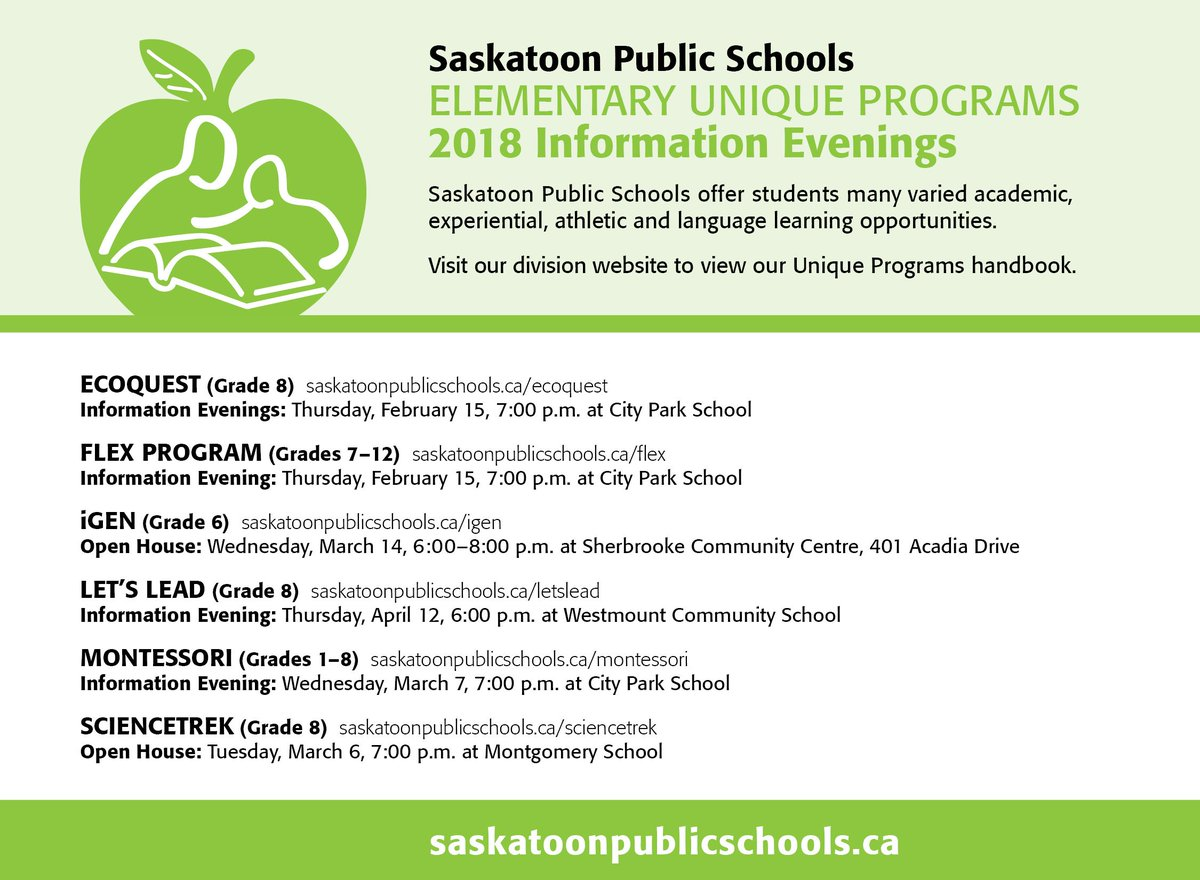 Frequently asked questions saskatoon public schools information nights for our elementary level unique programs begin this week the flex and ecoquest programs are welcoming parents and students on thursday aiddatafo Image collections