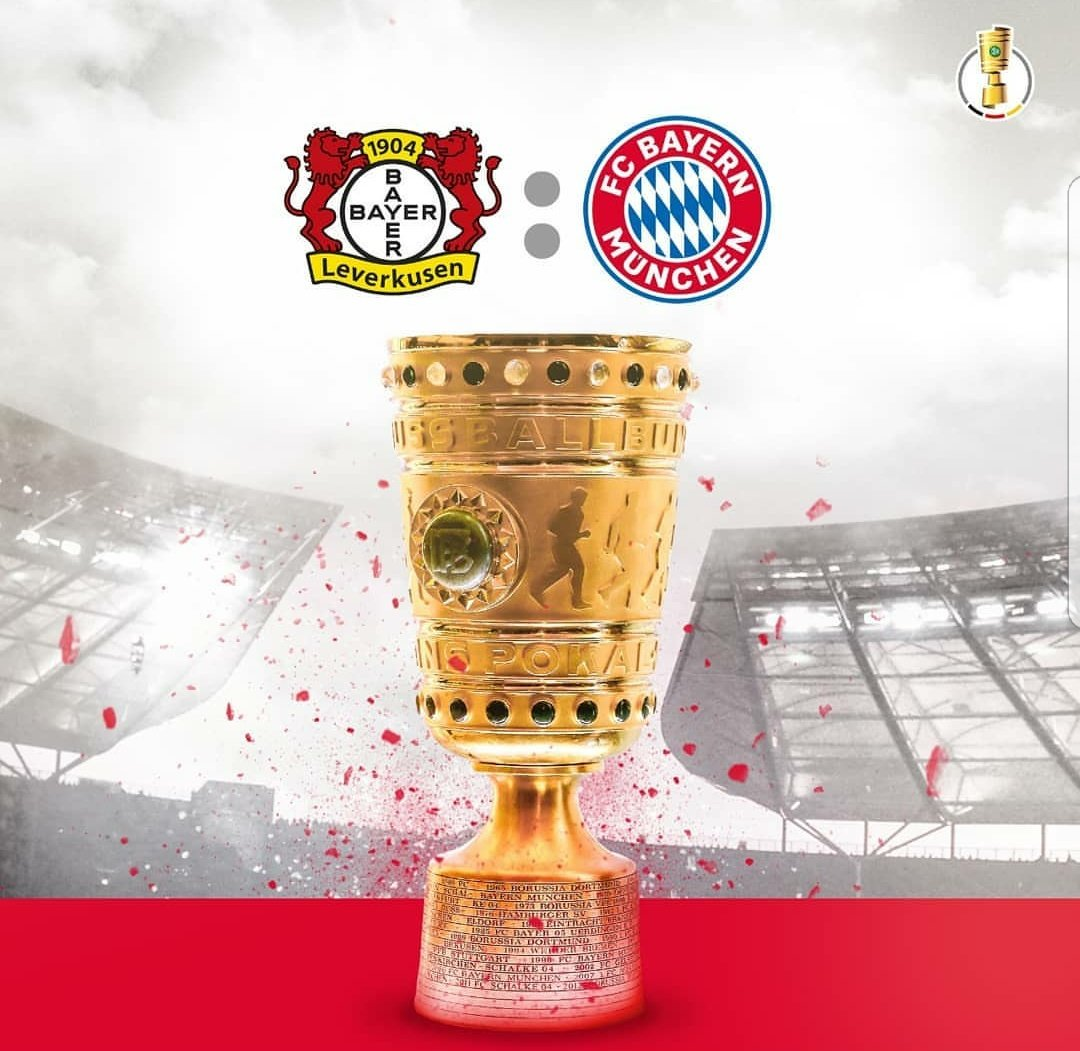 And we play @bayer04fussball in the @DFB...