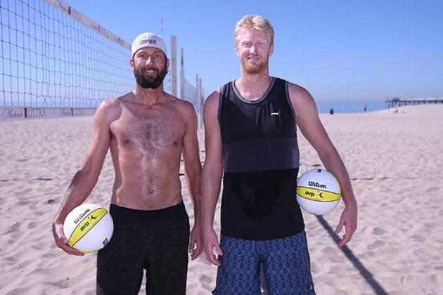 Two big leapers get together as Chase @CBudinger teams with @SeanRosenthal Read our feature about the veteran and the rookie as they prepare for @FIVBBeach in 2018: https://volleyballmag.com/chase-budinger-021218/ …