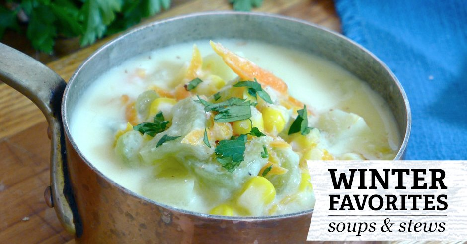 Soups on! #Recipes for feeding crowds, #freezing, and reheating on a chilly #fall night https://t.co/bZYa0tBqgl