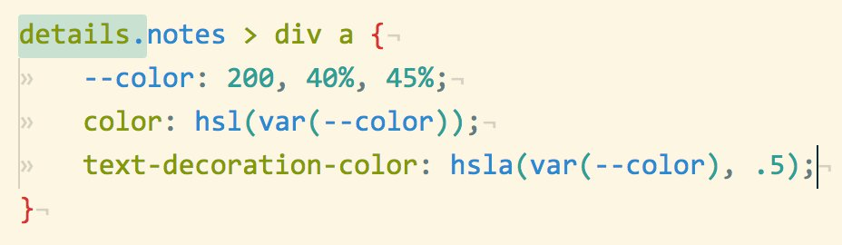 Lea Verou On Twitter Did You Know That You Can Use Css Variables
