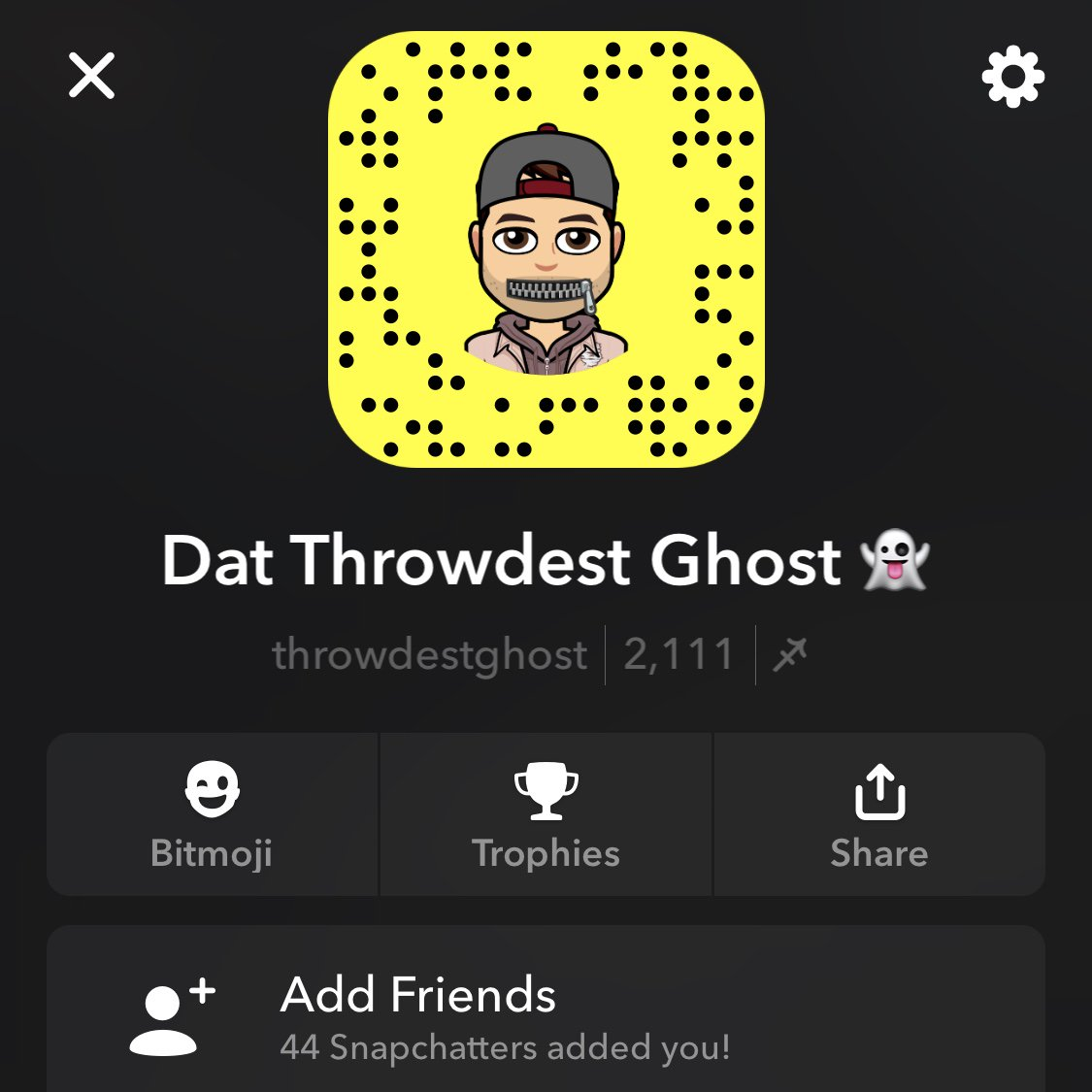 Dat Throwdest Ghost 🌃's photo on My Snapchat