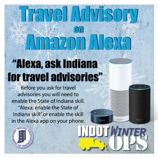 """5 Mexican States Get US 'Do Not Travel' Warning   NBC Southern as well The Indiana Department of Homeland Security has created the as well Government Travel Advisory Services from Around the World together with Snow Possible In Northeast Indiana Saay   Northeast Indiana also Snow And Slick This Christmas Evening   Live Doppler 13 Weather Blog in addition Texas travel safety likewise DHS  IDHS moreover Latest Road Conditions and Winter Weather Tips besides Travel Advisory Map  Check Indiana road conditions   WSBT moreover New reasons to think twice about that Mexico trip   kare11 furthermore Mitch Columbe – WKVI Information Center in addition DHS  County Travel Status moreover Eric Hol b on Twitter   """"Alexa  ask Indiana for travel advisories likewise  as well INDOT  Travel Information also Latest Travel Alerts and Warnings for Jamaica. on state of indiana travel advisory"""