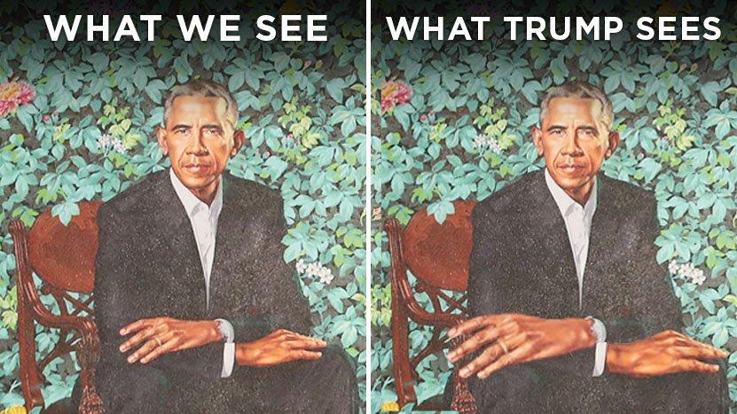Art. #ObamaPortraits https://t.co/YaVXKT...