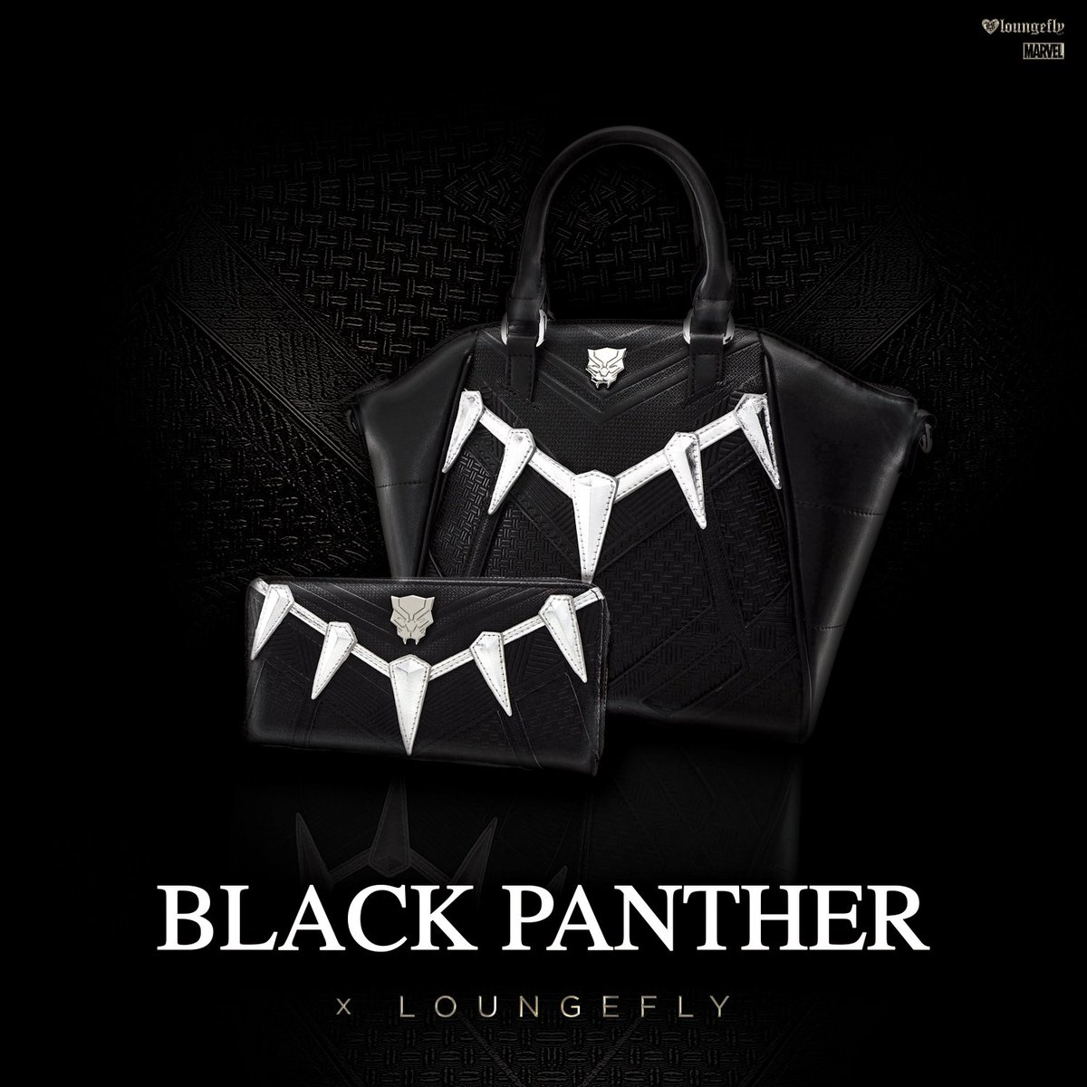 Check out the new @Loungefly #BlackPanth...