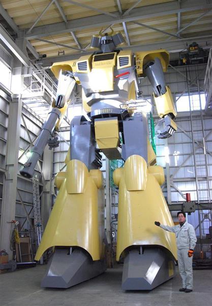 群馬のメーカー、操縦できる巨大ロボットを開発 https://t.co/MchtWxaOtq