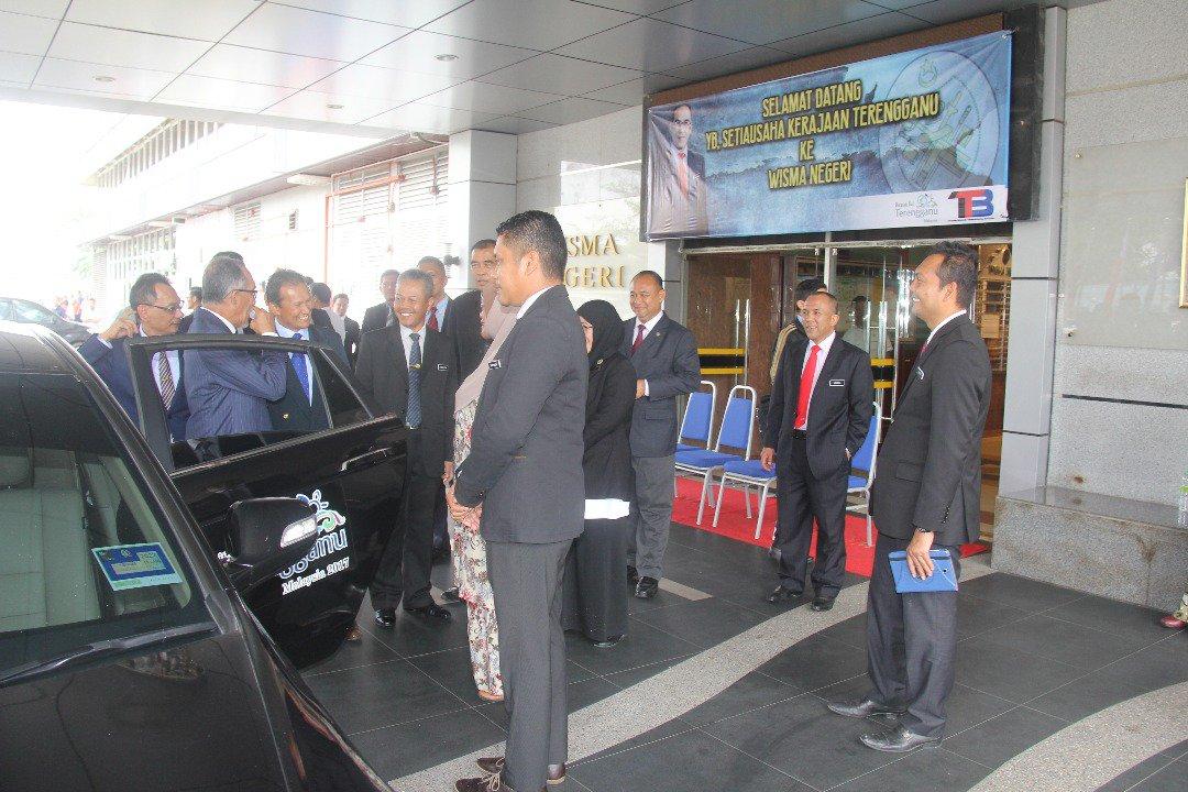 Majlis Perjumpaan YB Setiausaha Kerajaan Terengganu Bersama Warga Kerja Wisma Negeri @SUKTRG @RoslanMdTaha @irckb_chedin @yusufghani200 @jasmi99203168