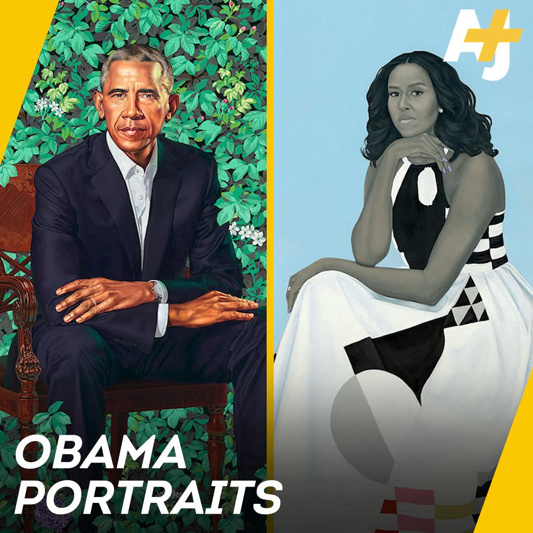 Here's the significance behind the Obamas' official portraits.