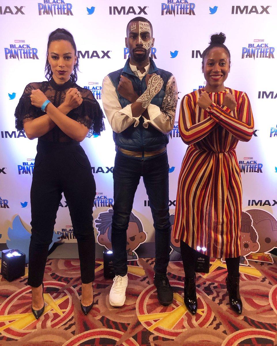 #BlackPanther was incredible. #WakandaForever.
